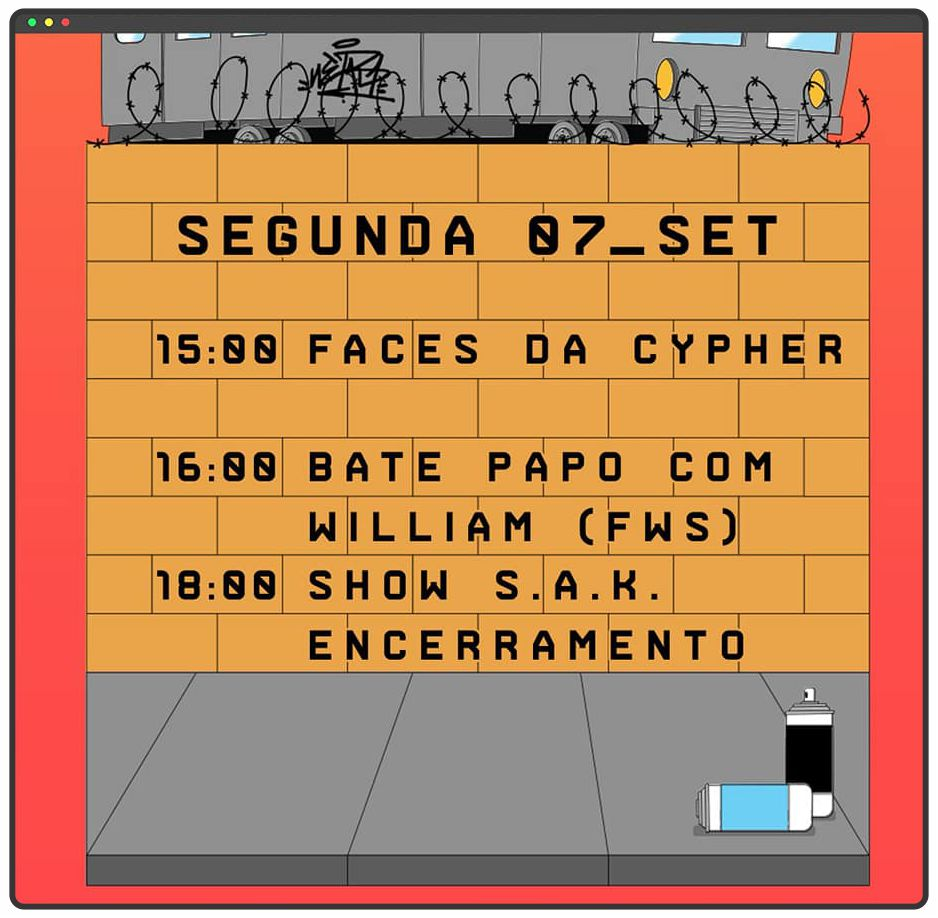 Começou neste fim de semana a Battle In The Cypher on-line