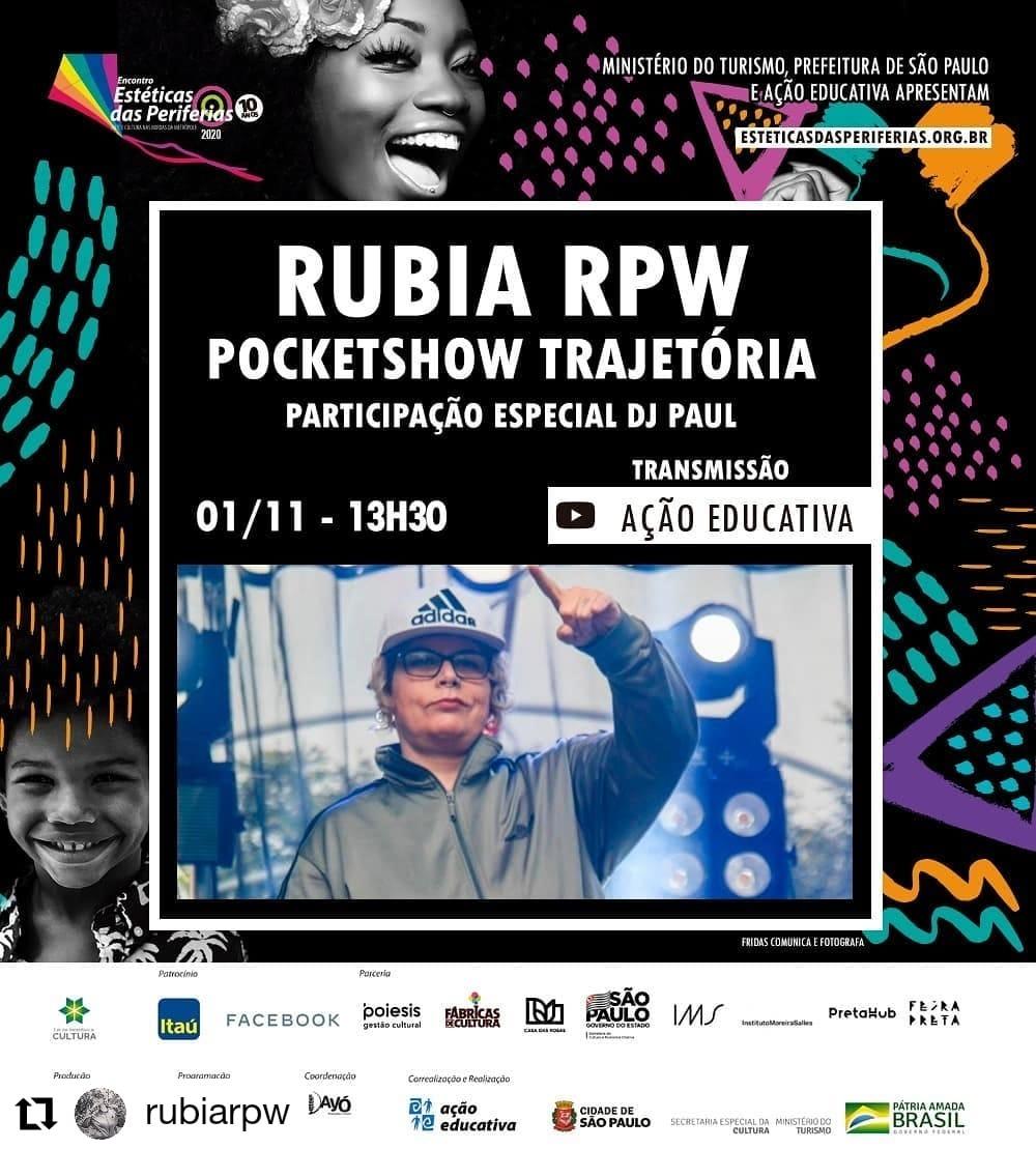 RÚBIA RPW Pocket Show Trajetória