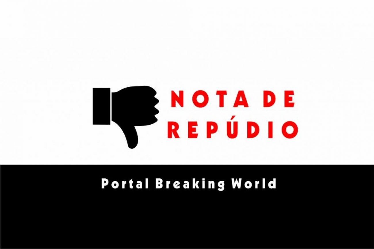 nota de repudio breaking world 2020 10 02